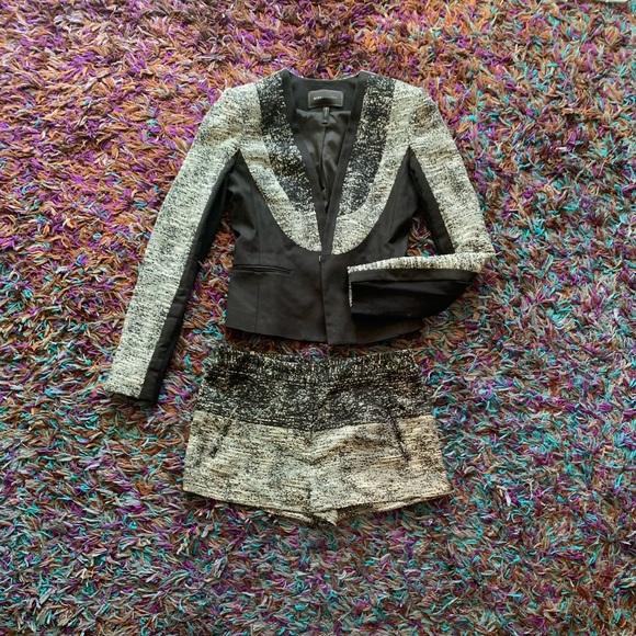 BCBGMaxAzria Jackets & Blazers - BCBG matching set